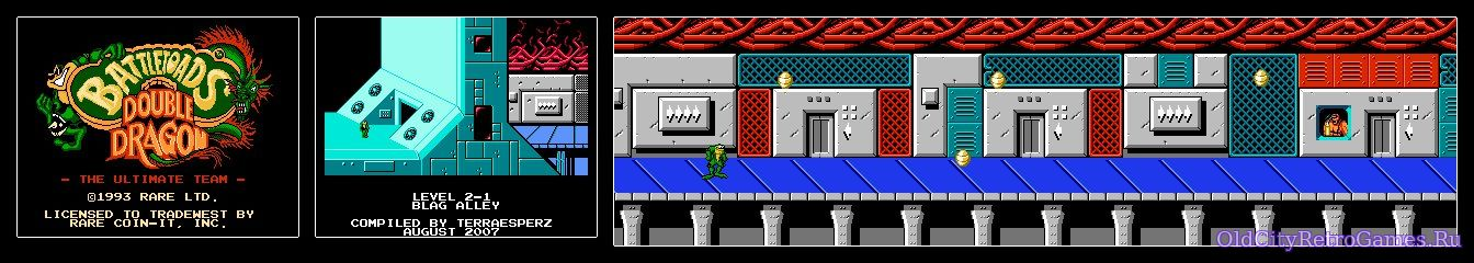 Battletoads and Double Dragon, Map #2