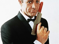 James Bond with Zapper Gun
