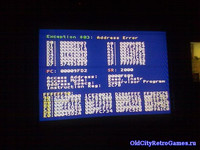 BsoD, Blue Screen of Death, Sega MD, Бсод, Sega Genesis