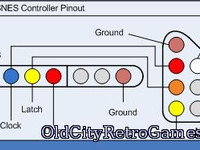 Nes Snes Controller Pinout Нес Снес Джойстик