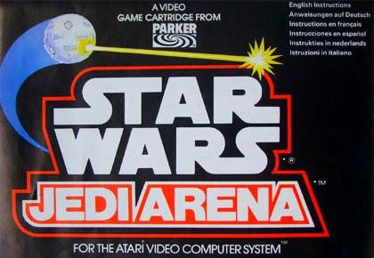 Титульный экран из игры Star Wars Jedi Arena / Звездные Войны - Арена Джедаев