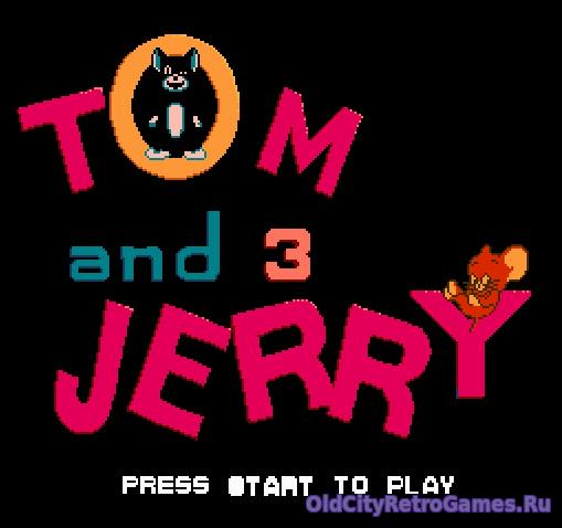 Титульный экран из игры Tom & Jerry 3 / Том и Джерри 3