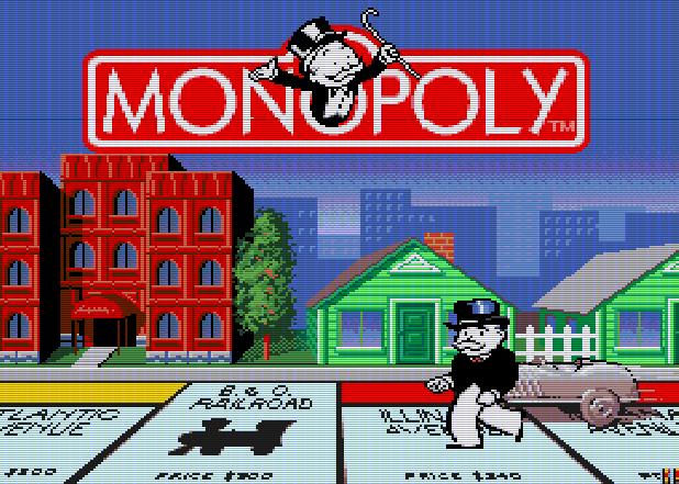 Титульный экран из игры Monopoly / Монополия