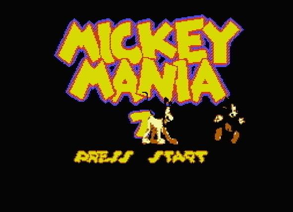 Титульный экран из игры Mickey Mania 7 / Микки Мания 7