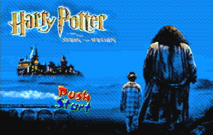 Титульный экран из игры Harry Potter / Гарри Поттер