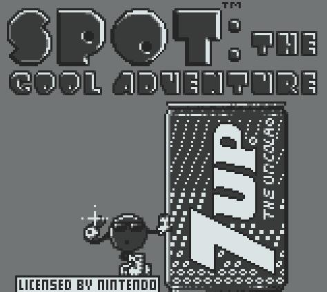 Титульный экран из игры Spot The Cool Adventure / Кул Спот - Прохладное Приключение