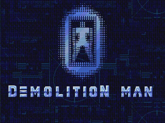 Титульный экран из игры Demolition Man / Разрушитель