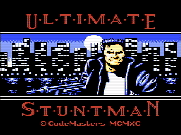 Титульный экран из игры Ultimate Stuntman The / Последний Каскадер