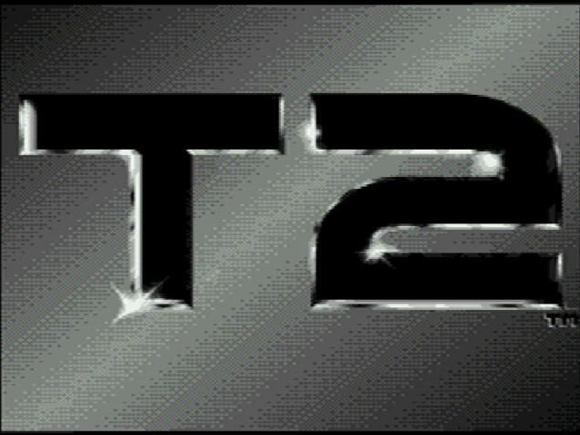 Титульный экран из игры Terminator 2: Judgment Day / Терминатор 2: Судный День