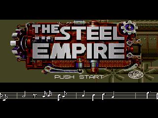 Титульный экран из игры Steel Empire, The / Koutetsu Teikoku / 鋼鉄帝国