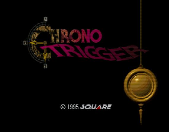Титульный экран из игры Chrono Trigger / Кроно Триггер