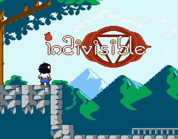 Титульный экран из игры Indivisible / Нераздельный