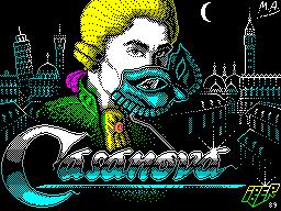 Титульный экран из игры Casanova / Казанова