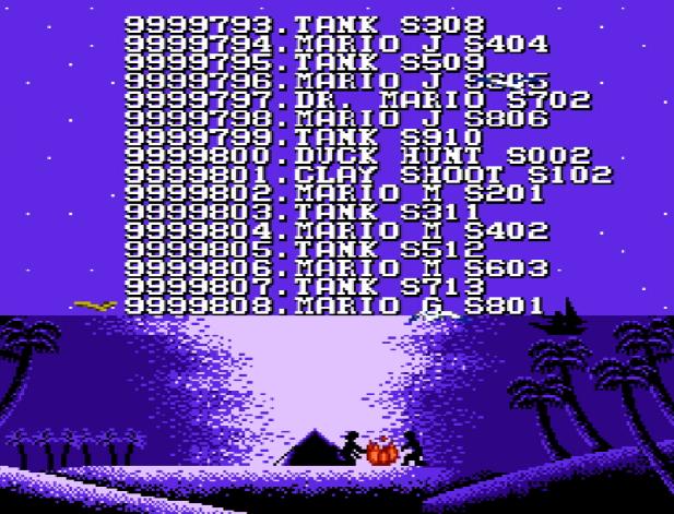 Титульный экран из игры 999999 in 1 / 999999 в 1