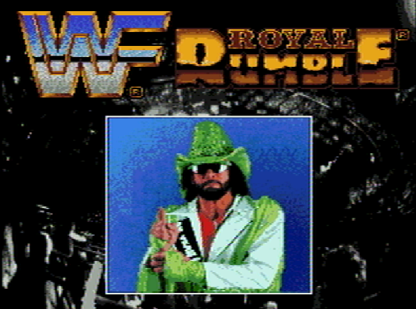 Титульный экран из игры WWF Royal Rumble / Роял Рамбл