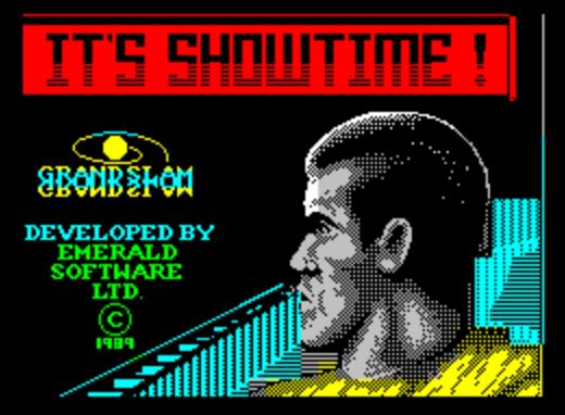 Титульный экран из игры Running Man 'the / Бегущий Человек