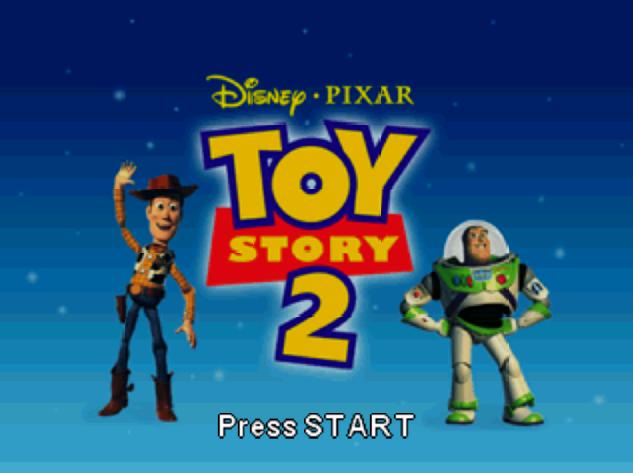 Титульный экран из игры Toy Story 2 / История Игрушек 2