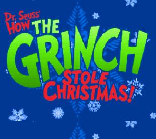 Титульный экран из игры Dr. Seuss - How the Grinch Stole Christmas!