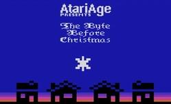Титульный экран из игры Byte Before Christmas 'the