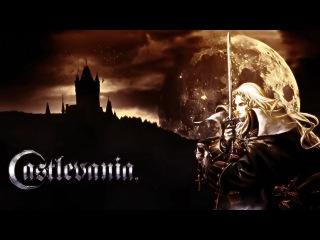 Титульный экран из игры Castlevania: Symphony of the Night
