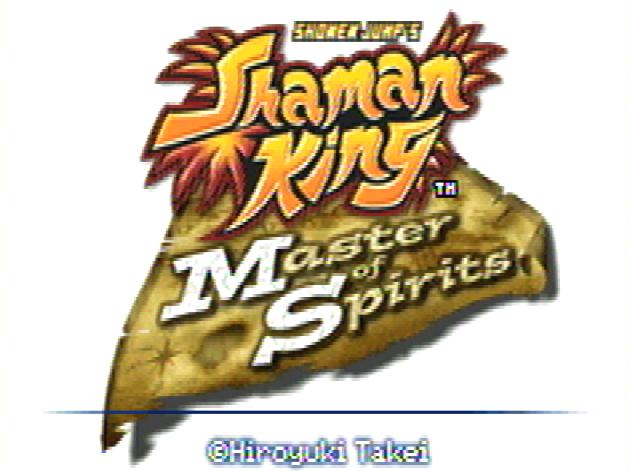 Титульный экран из игры Shaman King: Master of Spirits / Король Шаманов: Повелитель Духов