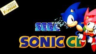 Титульный экран из игры Sonic CD