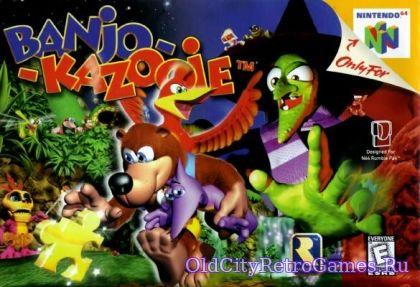 Титульный экран из игры Banjo-Kazooie / Банджо-Кадзуи
