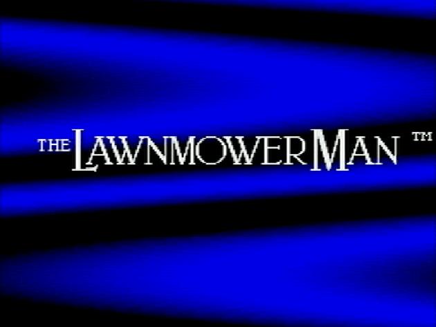 Титульный экран из игры Lawnmower Man 'the / Газонокосильщик